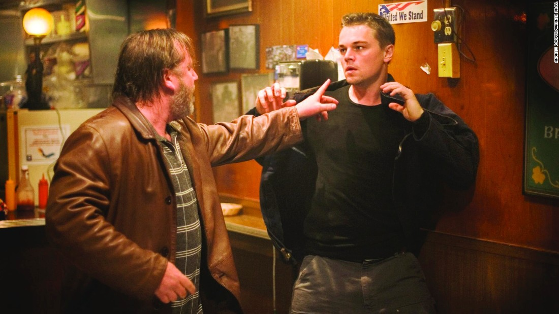 "The 2006 film ""The Departed"" won a best picture Academy Award and best director for Scorsese. DiCaprio's role as an undercover officer infiltrating the mob won him praise but no Oscar."