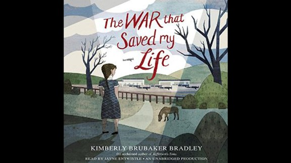 "Odyssey Award for best audiobook produced for children and/or young adults, available in English in the United States: ""The War that Saved My Life,"" written by Kimberly Brubaker Bradley, narrated by Jayne Entwistle and produced by Listening Library."