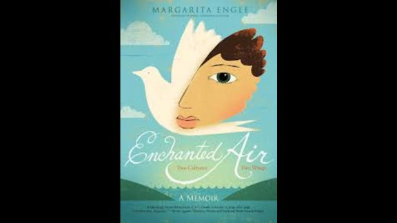 "Pura Belpré (Author) Award: ""Enchanted Air: Two Cultures, Two Wings: A Memoir,"" written by Margarita Engle."