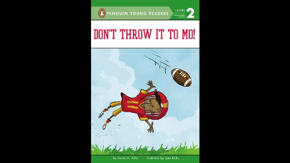 "Theodor Seuss Geisel Award for the most distinguished beginning reader book: ""Don't Throw It to Mo!,"" written by David A. Adler and illustrated by Sam Ricks."