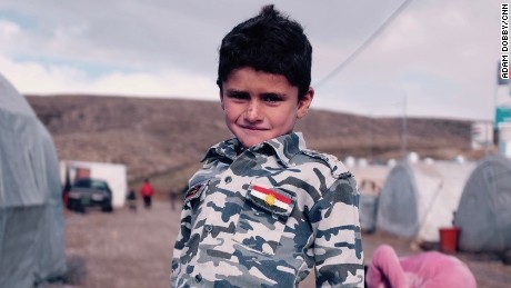 'Like coming back to life' says child soldier who escaped ISIS