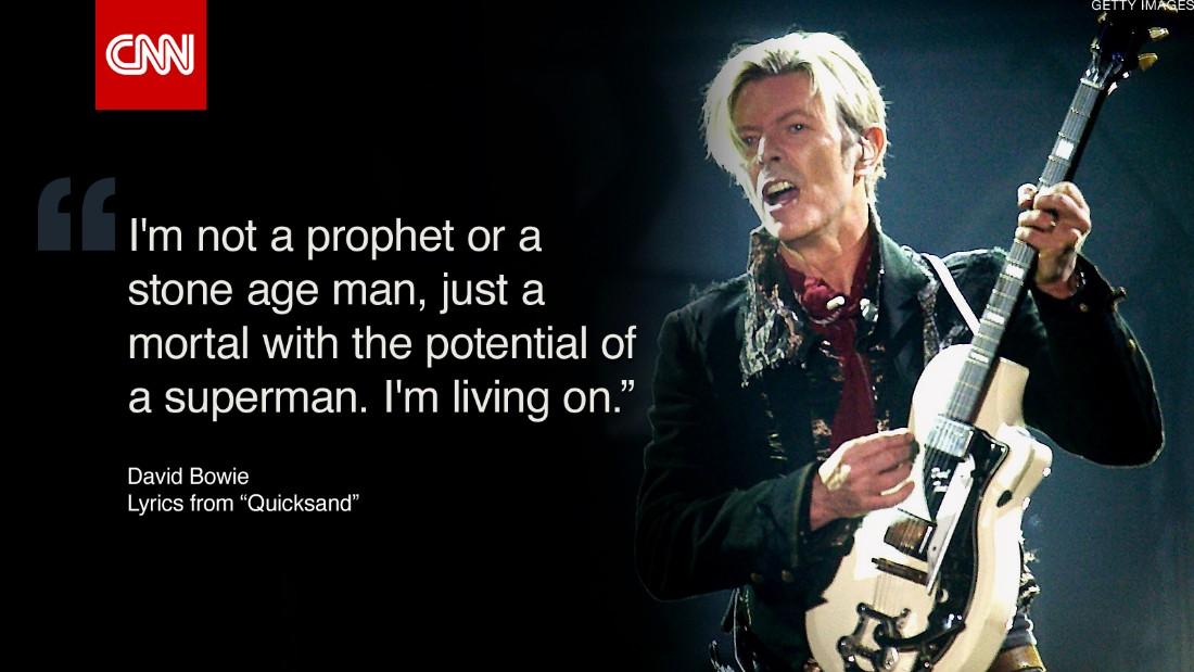 Blackstar': Final album hints at Bowie's death - CNN
