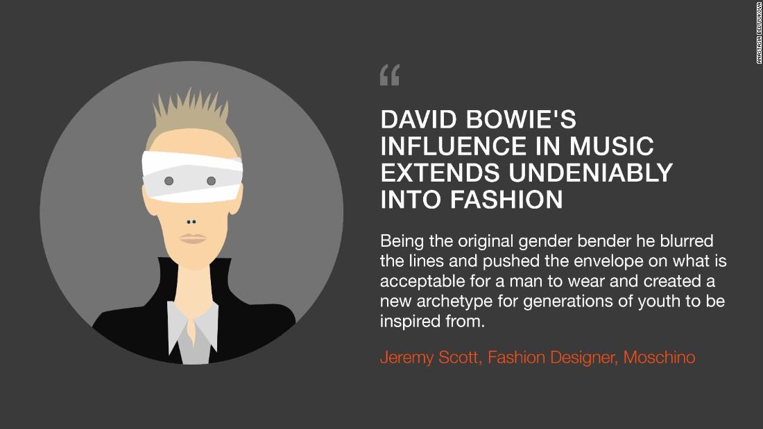 David Bowie Fashion Single