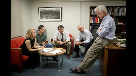 "Best original screenplay: ""Spotlight,"" by Josh Singer and Tom McCarthy"