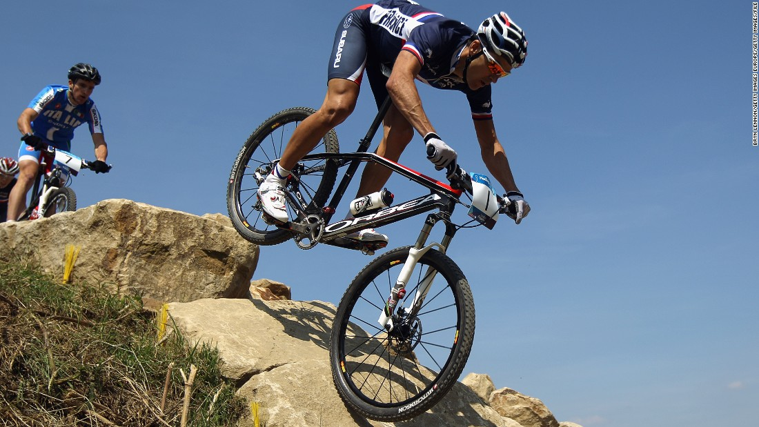 "The legendary mountain-bike champion is gearing up for the final challenge of his remarkable career at Rio 2016. <a href=""http://edition.cnn.com/2016/01/13/sport/julien-absalon-mountain-biking-olympics/index.html"" target=""_blank"">Read more</a>"