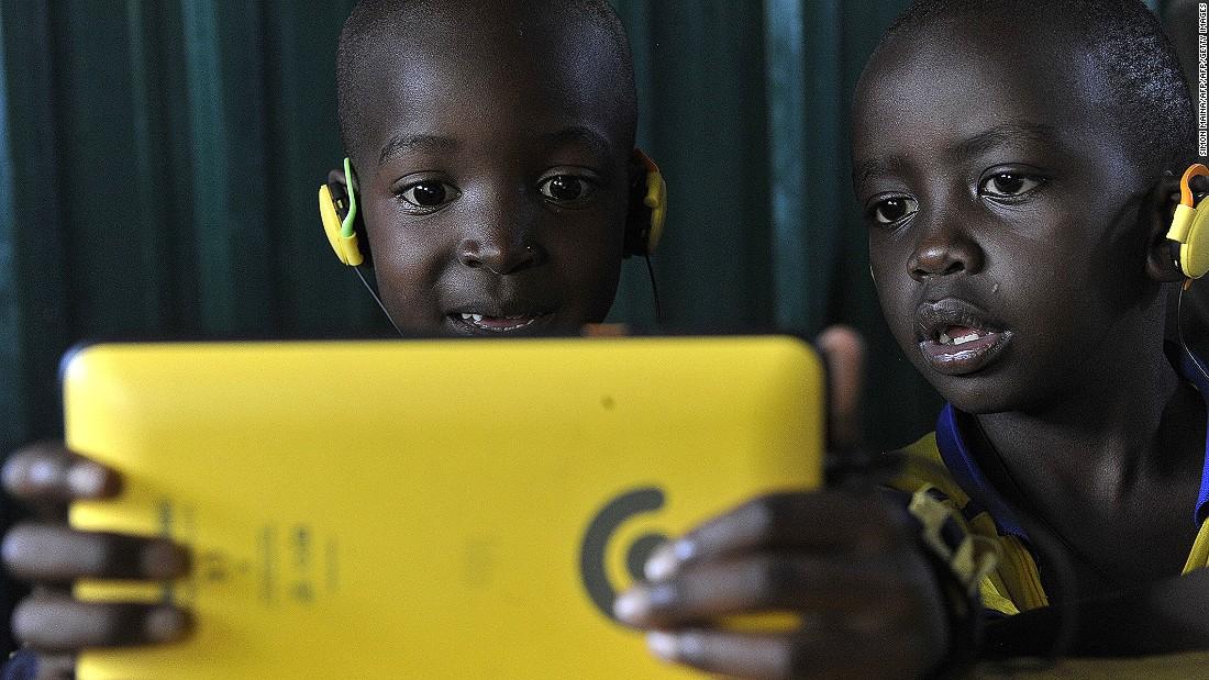 Bildergebnis für african kids internet