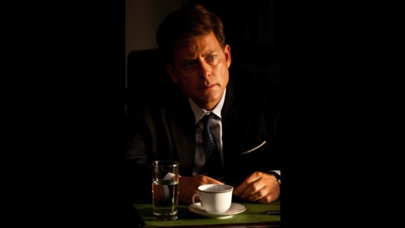 "Greg Kinnear was nominated for an Emmy for his role as John F. Kennedy in ""The Kennedys."""