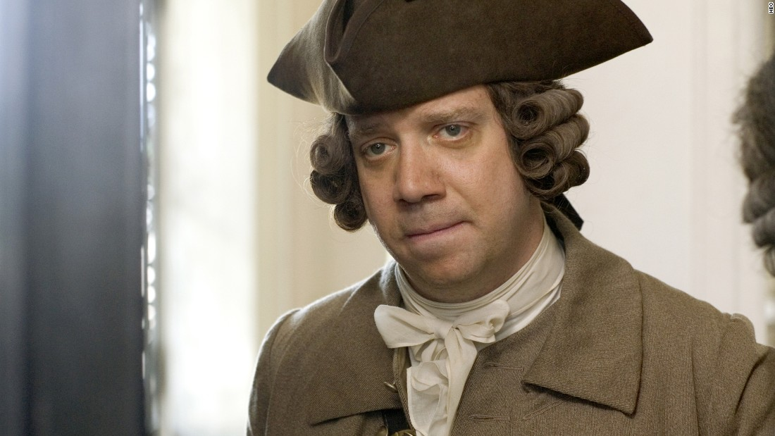 "Paul Giamatti played the title character in 2008's ""John Adams."" The Emmy- and Golden Globe-winning miniseries also features David Morse as George Washington and Stephen Dillane as Thomas Jefferson."