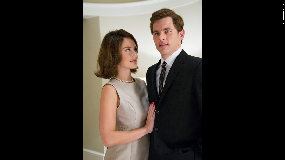 "James Marsden plays John F. Kennedy in ""The Butler"" alongside Minka Kelly as Jacqueline Kennedy."