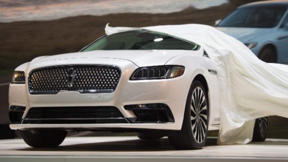 The Continental is no longer a dream car. At Detroit, Ford's luxury brand rolled out its production-ready rear-wheel drive luxury sedan.