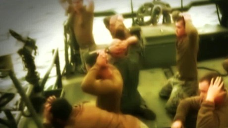 Growing anger after Iran broadcasts video of sailors