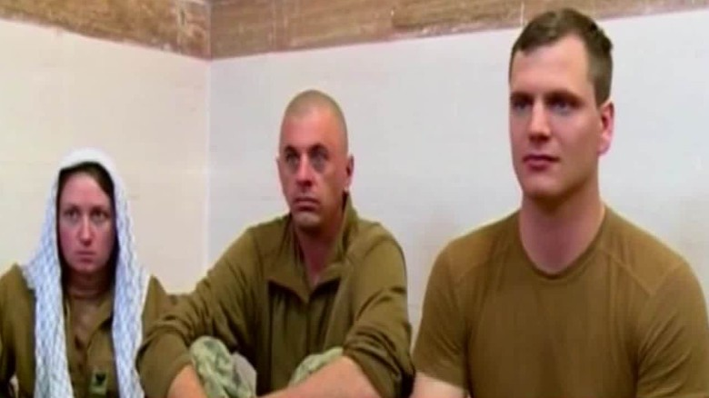 Ten U.S. sailors captured by Iran now free