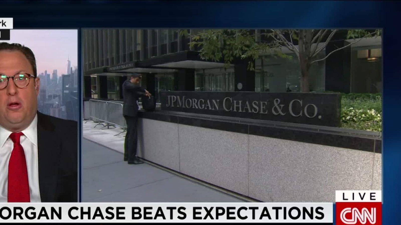 JPMorgan Chase beats expectations - CNN Video