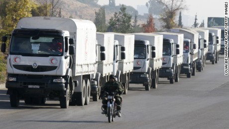 In Madaya, 'Everybody asked us, did you bring in food?'
