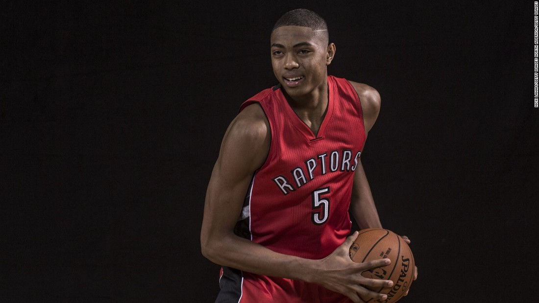 Nogueira's teammate Bruno Caboclo has found a home with Toronto's large Brazilian community, eating food from his home country three times a week.