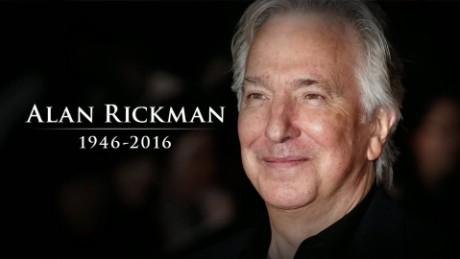 'Harry Potter' actor Alan Rickman dies