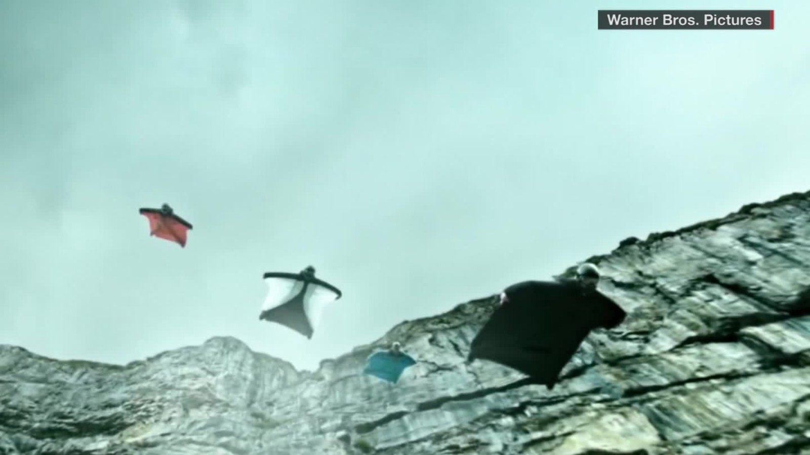 Watch This Guy Jump Off Mount Everest Cnn Video