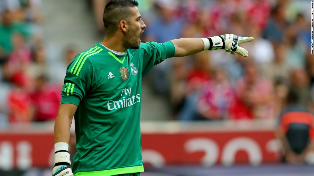 Goalkeeper Kiko Casilla, 28, returned to Real from Espanyol for $6.1 million in July 2015.