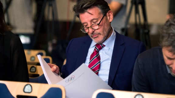 """WADA's initial report on alleged widespread drug use in international athletics concluded that senior figures including IAAF president Sebastian Coe (pictured) """"could not have been unaware of the extent of doping."""""""