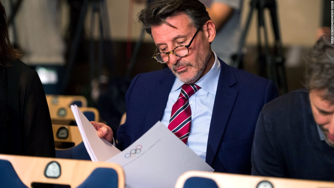 "WADA's initial report on alleged widespread drug use in international athletics concluded that senior figures including IAAF president Sebastian Coe (pictured) ""could not have been unaware of the extent of doping."""