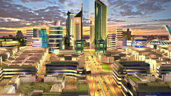 The government plans to complete the techno city some time after 2030. The Konza Development Authority (KTDA) estimates Konza will bring in $1bn every year and create 100,000 jobs. There are critics, though, who are skeptical that techies will want to relocate away from Nairobi, already a buzzing technological hub.