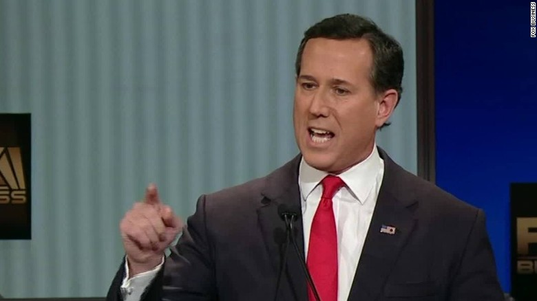 Rick Santorum to cadets: 'I will have your back'