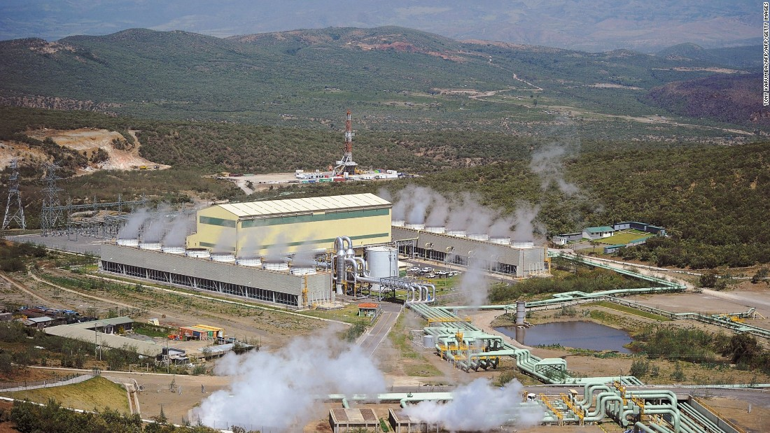 "Kenya has embraced geothermal energy in a big way, aiming to serve one-quarter of its energy needs through this source. <br /><br />New ventures such as the Ol-Karia IV power plant (pictured) make it one of the world's leading producers, and <a href=""http://allafrica.com/stories/201601150868.html"" target=""_blank"">investment</a> is set to increase."