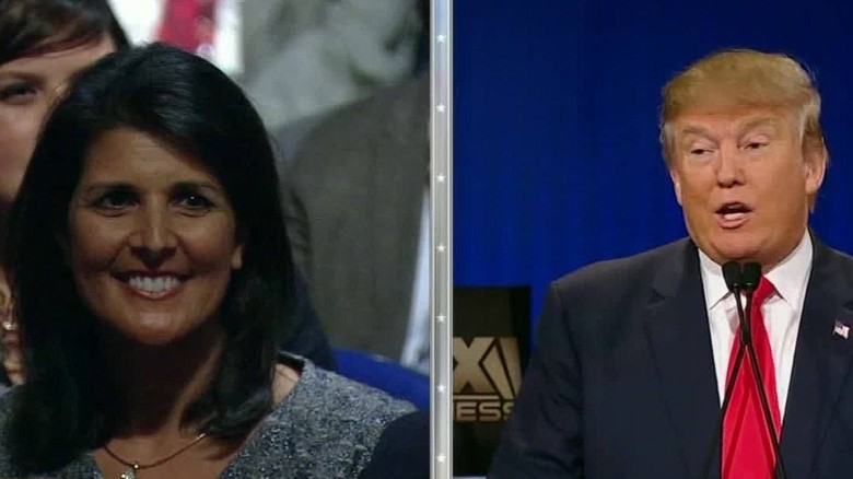 Trump answers Gov. Haley's 'angriest voices' remark