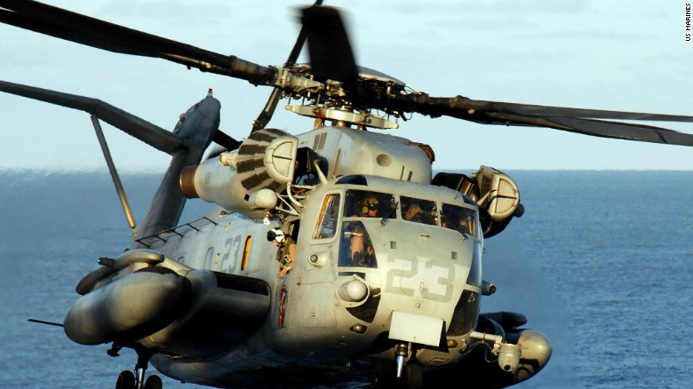 Several dead in Marine helicopter crash
