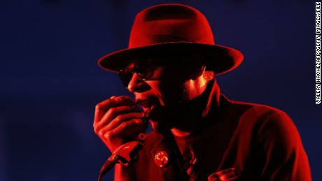 US rapper Mos Def, touring under the name Yasiin Bey, performs on stage during the Nice Jazz Festival on July 12, 2014 in Nice, southeastern France. AFP PHOTO / VALERY HACHE        (Photo credit should read VALERY HACHE/AFP/Getty Images)