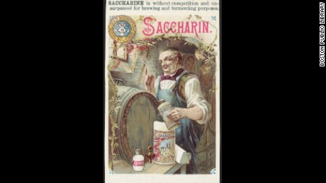 Chemist Constantin Fahlberg filed for the first patent on saccharin.