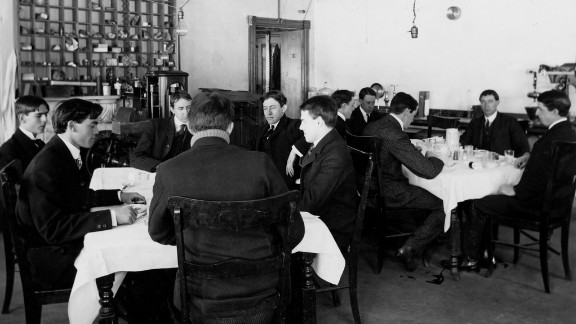 In the early 1900s, a group of civil servants was given free room and board if the men would eat food heavily laced with widely used chemical preservatives, including borax and saccharin.   They were required to weigh in and take their vital signs before each meal and report any physical reactions. They also had to supply their urine and feces for analysis.