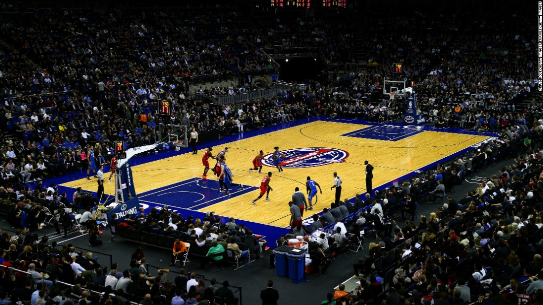 The NBA arrived in London for the sixth time in as many years as the Toronto Raptors and Orlando Magic battled it out at the O2 Arena. In front of a sell-out crowd, the NBA's Eastern-Conference clash finished 106-103 to the Raptors, as they claimed their fourth successive victory.