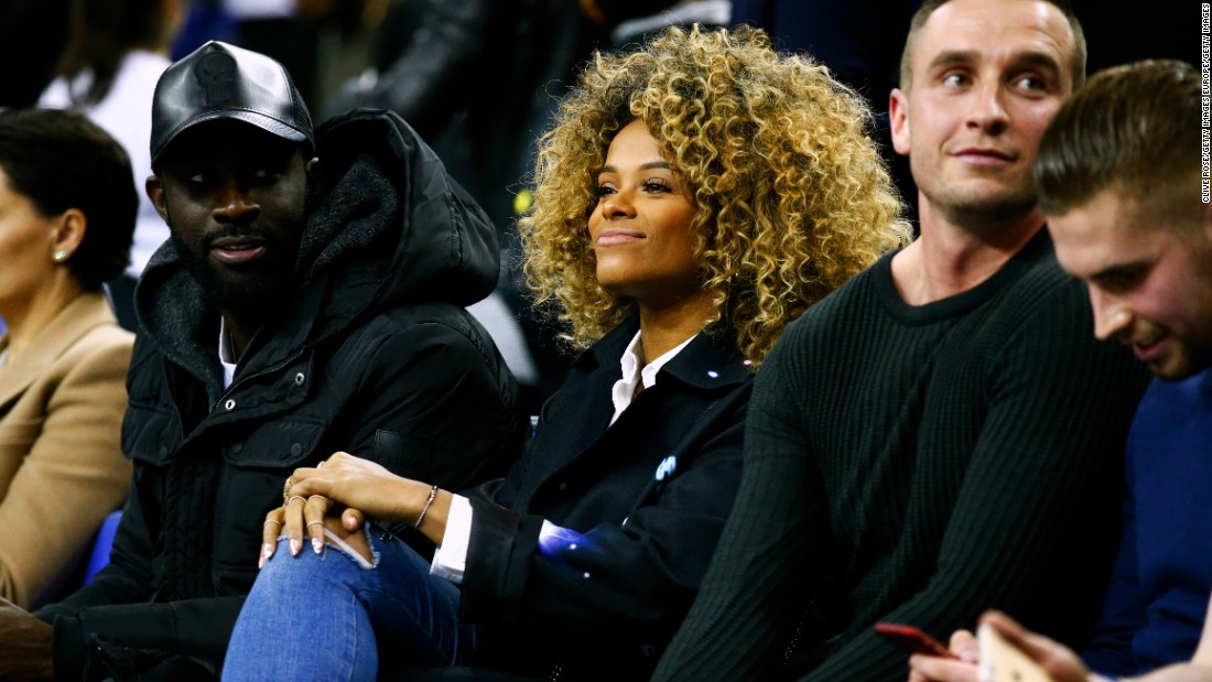 Fleur East, made famous by the televised singing competition The X-Factor,  was at the O2 to take in the action.