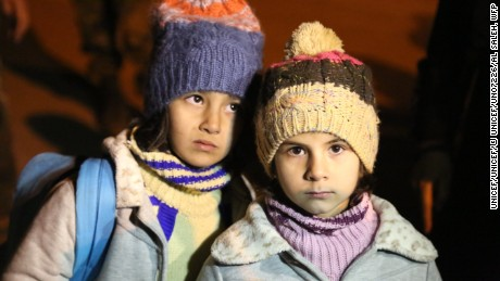 Children in Madaya have been among the worst hit by the siege.