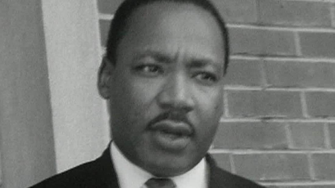 Never-before-seen footage of MLK