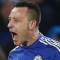 john terry celebrates chelsea everton