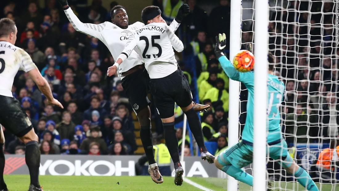 Argentinian defender Ramiro Funes Mori put Everton in front again in time added on after Chelsea could not clear Gerard Deulofeu's corner, allowing the Spaniard to cross to the back post.