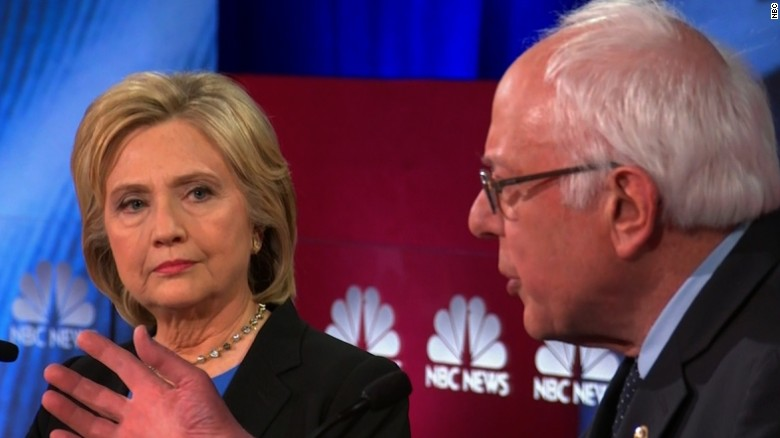 Clinton, Sanders disagree on support of President Obama