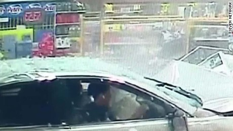 car plows into store newday_00000730