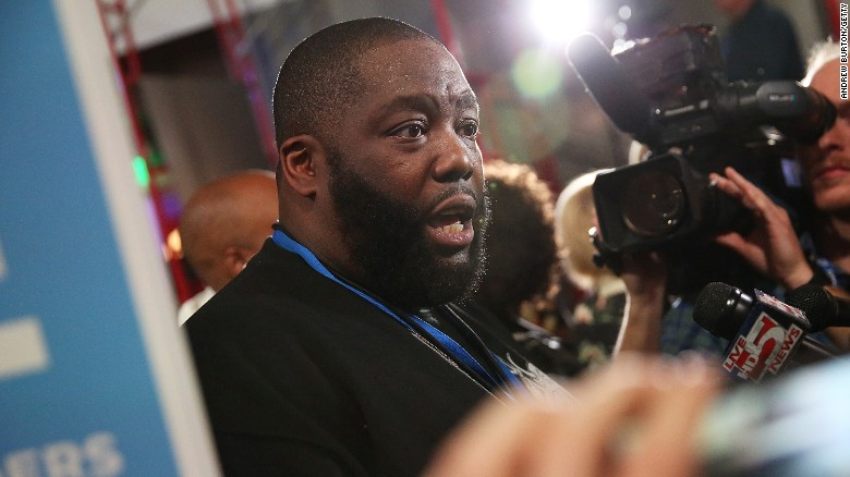 See Killer Mike's glowing endorsement of Bernie Sanders
