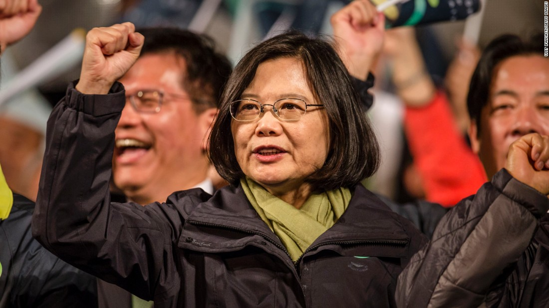 Tsai Ing-wen was elected Taiwan's first female President in January 2016. The former law professor and leader of the opposition Democratic Progressive Party also gained control of Taiwan's legislature for the first time.