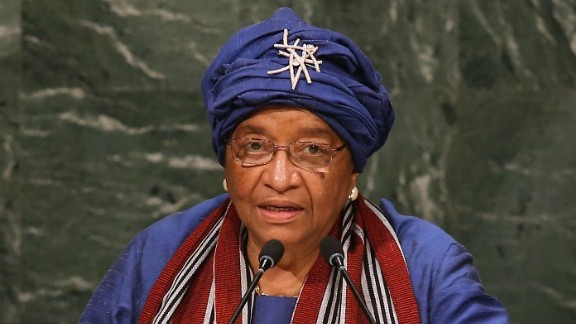 Ellen Johnson Sirleaf is the President of Liberia. She is the first elected female head of state in Africa.