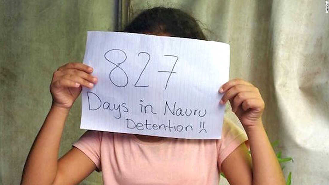 At the end of 2015, 537 people were being held in the Nauru detention center. Of those, 68 were children.