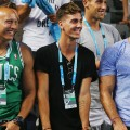 Kokkinakis watches Australian Open 2016
