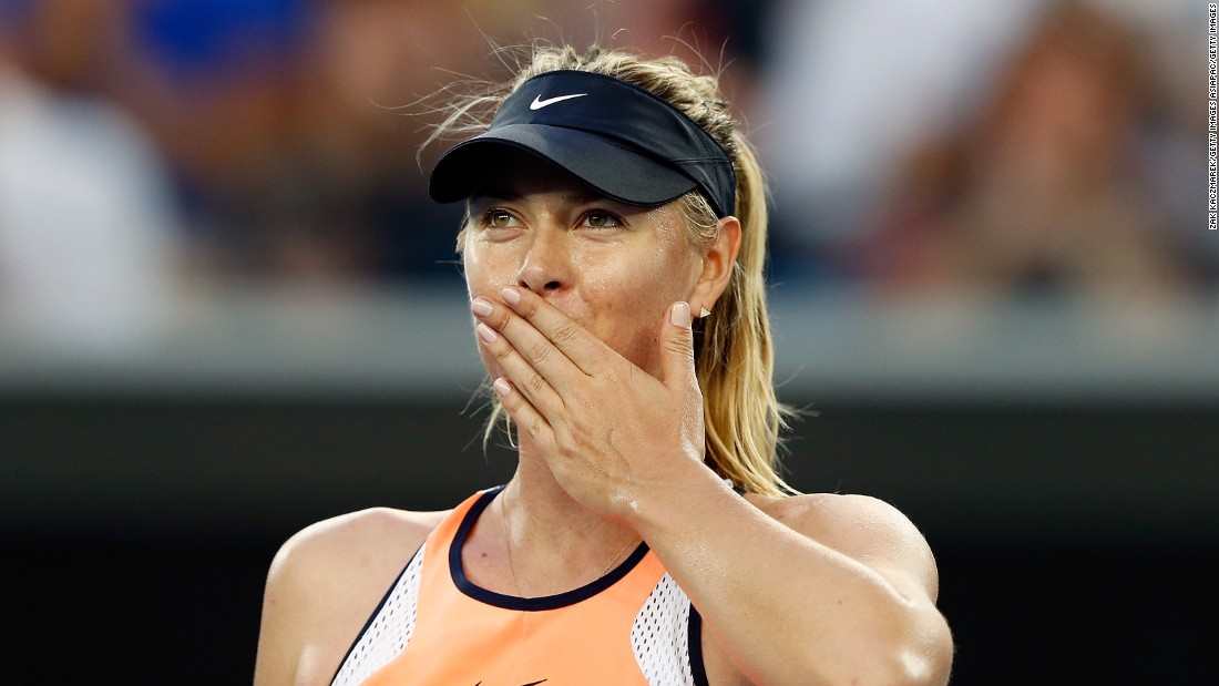 Maria Sharapova was also victorious, seeing off plucky Lauren Davis 6-1 6-7 (5) 6-0.