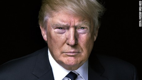 CNN Candidate Photography Donald Trump ph: Nigel Parry for CNN