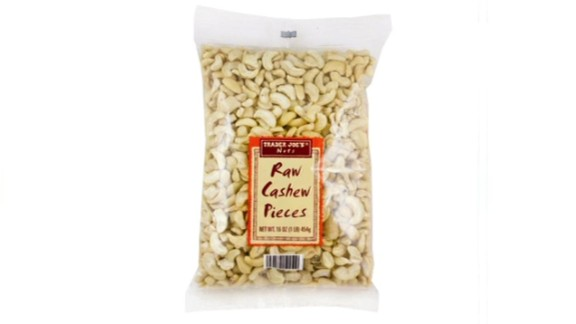 Popular grocery story chain Trader Joe's recalled a specific lot of raw cashew pieces over possible salmonella contamination. The nuts were sold in 30 states as well as Washington, D.C. On January 15, the company said it had removed all lots of cashew pieces from store shelves pending an investigation.