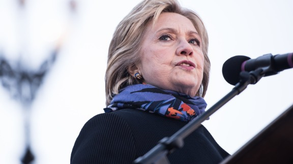 Democratic presidential candidate Hillary Clinton speaks to the crowd during the King Day at the Dome rally at the S.C. State House January 18, 2016 in Columbia, South Carolina.