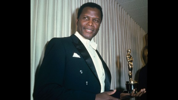"In 1964, Sidney Poitier won best actor for ""Lilies of the Field."""